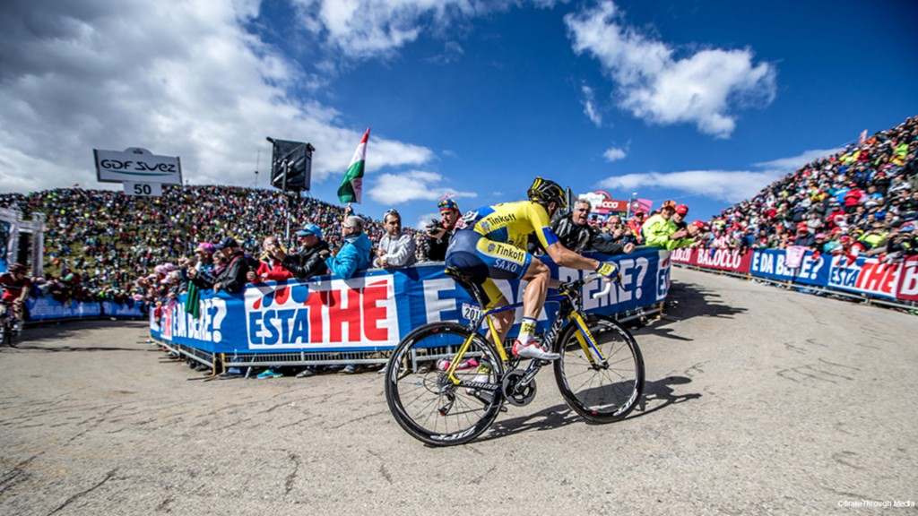 Майкл Роджерс 20 этап Giro d'Italia 2014